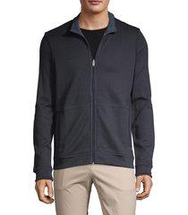 boss hugo boss men's reversible cotton jacket - navy - size xxl
