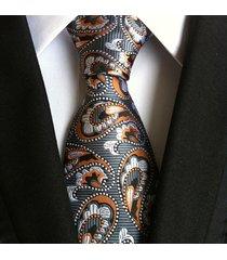 cravatta formale con jacquard