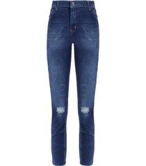 calça feminina paula jegging - azul