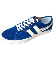 zapatilla azul supercompras casual