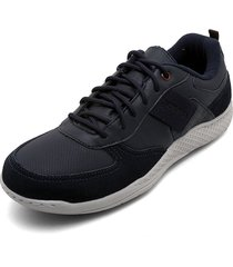tenis azul navy-blanco sound