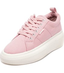 zapatilla canvas inflated rosa bamers