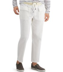 sun + stone men's phillip relaxed-fit stretch corduroy drawstring pants