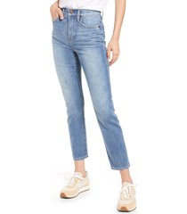 women's madewell perfect vintage retro pocket jeans, size 24 - blue