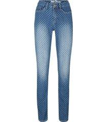 jeans elasticizzati comfort in fantasia skinny (blu) - john baner jeanswear