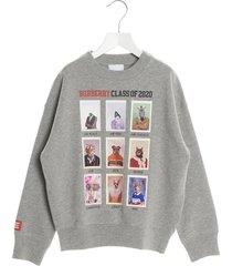 burberry yearbook sweatshirt