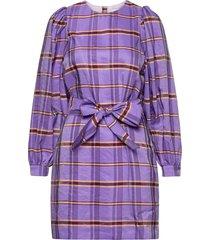 orion dress 12867 kort klänning lila samsøe samsøe