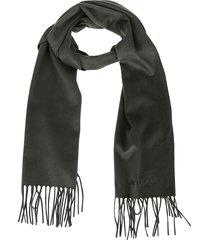 alexander mcqueen green cashmere scarf