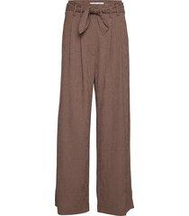 nellie trousers 11238 wijde broek bruin samsøe samsøe