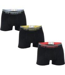 mens arron 3 pack boxer shorts