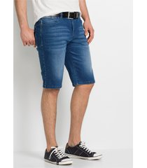 slim fit stretch jeans bermuda