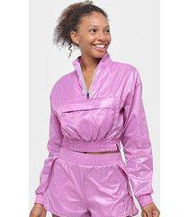 blusa alto giro aerofit mini bolsa feminina