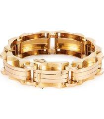 18k gold tank bracelet
