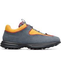 camper lab pop trading company, sneakers mujer, gris/naranja/rojo, talla 41 (eu), k201047-001