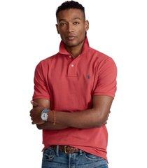 polo ralph lauren men's custom slim fit mesh polo shirt