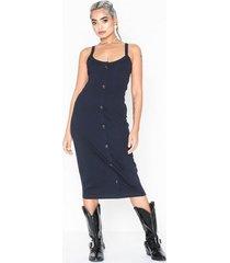 vero moda vmhelsinki sl dress vma klänningar mörk blå