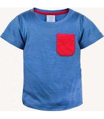 t-shirt dziecięcy merino