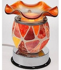 seashell touch lamp oil/tart warmer - use with scentsy wax