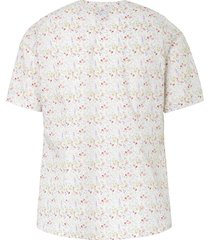 blouse van 100% katoen met korte mouwen van hammerschmid multicolour