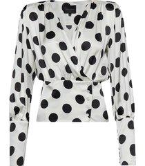 mie blouse blouse lange mouwen zwart birgitte herskind
