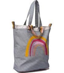 bolso azul  matriona rainbow
