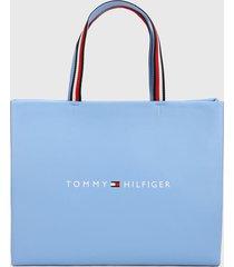 bolso azul-blanco tommy hilfiger