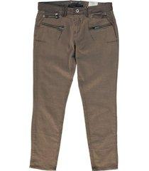 garcia riva 7/8e slim jeans taupe gray