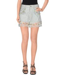love moschino denim shorts