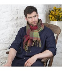 foxford wicklow tartan scarf