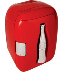 coca-cola heritage portable 12 can ac/dc cooler/warmer