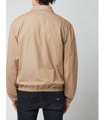 polo ralph lauren men's bayport poplin jacket - luxury tan - xxl