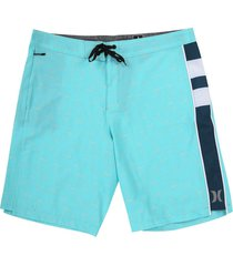 pantaloneta azul-blanco-negro hurley