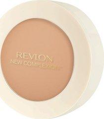 pó compacto revlon one step new complexion natural tan 9,9g