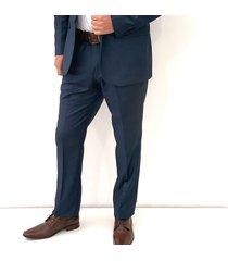 traje azul oscar de la renta b8sut23-dk/bl