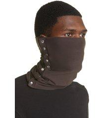 men's bryan jimenez muddy button head scarf, size one size - brown