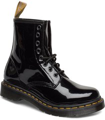 1460 vegan shoes boots ankle boots ankle boots flat heel svart dr. martens