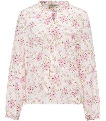 blouse 100% zijde lange mouwen van uta raasch wit
