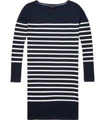 140908 sweater jurk gestreept