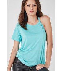 t-shirt claudia color verde exotique