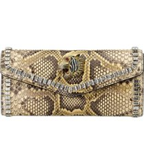 guccigenuine python clutch -