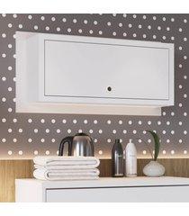 nicho cubo de parede retangular porta branco lilies móveis