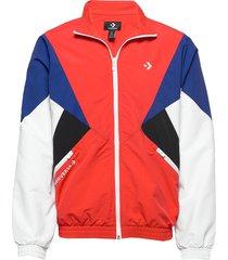 archive track jacket red multi tunn jacka multi/mönstrad converse