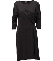 blouson jersey dress jurk knielengte zwart filippa k