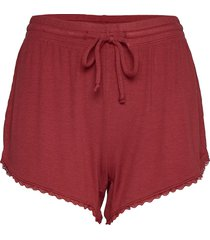 rib modal short shorts röd gilly hicks