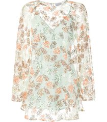 alice mccall celestial swing sequined mini dress - green