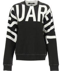 dsquared2 maxi logo sweatshirt