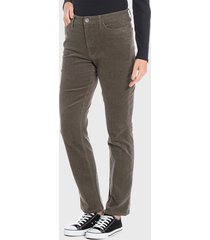 pantalón wados basico verde - calce ajustado