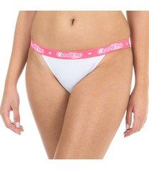 calcinha string branco capricho - 461.021 capricho lingerie string verde