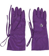 raf simons apollo labo gloves - purple