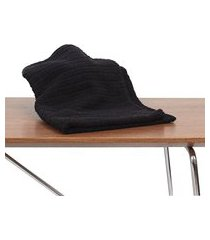 kit 21 toalha de rosto para salao de beleza, spas preta algodão